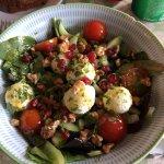 The Aran Goats Cheese Salad -- wonderful!