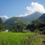 Photo of Annapurna Mountain Range