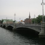 One of the many beautiful bridges in Stockholm, this one is 5 minutes away from Stromma