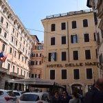 Hotel Delle Nazioni from Via Tritone