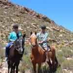 ....horse-back safari
