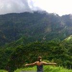 Au milieu de la vallée de Papenoo