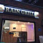 Rain Grill (With Blue Plaque)