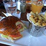 MMMMy sockeye salmon burger