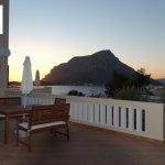 Nera Apartment - Veranda Panoramic View of the Bay of Myrties and Telendos Isle.