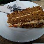 Delicious cake at Pergamino, Medellín