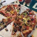 Jake's Small Combo pizza