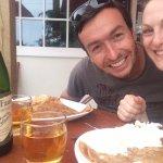 (I had a Crepe St Michel & my partner a Crepe Suzette. Classique but very good :D
