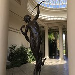 Statue outside American Art Museum