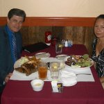 Our 10th anniversary dinner at Hindquarter Grill in Santa Cruz, CA