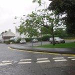 car park beside hall
