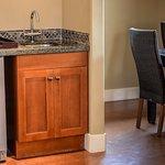 Wine fridges in all Solara's suites