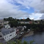 View of Portree from the opposite side of town.