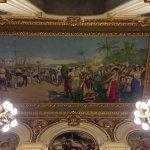 Historic mural ceiling