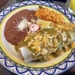Costa Azul Carne-Relleno Burrito