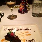 Happy birthday - it was. Very!