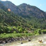 Glenwood Canyon Class II and III rapids
