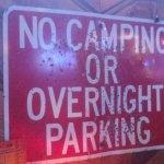 Sign with buckshot