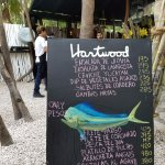 Hartwood Daily Menu Board