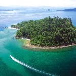 Sapi Island, one of 5 pristine islands, 35 minutes away by boat