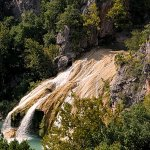 Turner falls from top