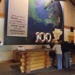 ALASKA - DENALI – MAIN VISITOR CENTER #1 – RANGER DESK