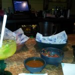 Half priced margaritas on Tues + Thursdays!  Enjoyed the buffet and great bartender @Romeoville