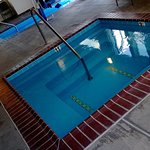Heated indoor pool and spa( has outdoor pool as well!)