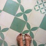 Cool floor tiles!