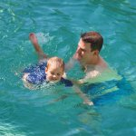 safe swimming for young kids
