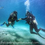 Our 1st open water dive