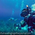 Our fun first dive as padi certified divers