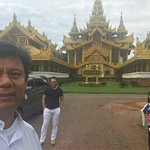 With Thai land guest.