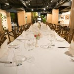 Possible to do large table set up for 40 persons