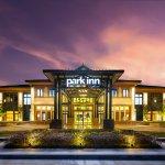 Park Inn Libo Entrance night scene 1