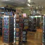 We sell a wide assortment of gifts and souvenirs