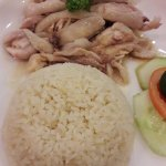 yummy chicken rice. The rice itself is very savory