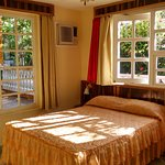 Room #1 - Room with large glass windows and excellent natural lighting looking over the delightf