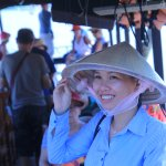 balade en bateau à Mekong