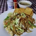 Inle Breakfast - Fried Noodles