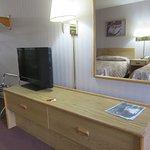 Adequately furnished room