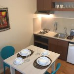 Dining and Kitchen of Serviced Apartment Rooms