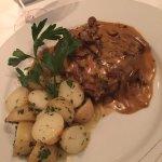 Fillet steak grilled with porcini wild mushrooms