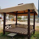 Beach day beds in need of urgent maintenance
