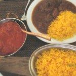 Wonderfully spicy chicken tikka masala and beef masala