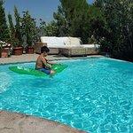 Sedat'ın verdiği bu timsah sayesinde havuzda film bile çektik :)