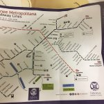 Trainline map given at Camping Fabulous to help you get in and out of Rome x