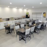 Enjoy our delicious Deluxe Hot Breakfast in our new spacious dinning area
