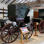 In the carriage museum