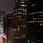 Looking down 42nd St from corner room.
